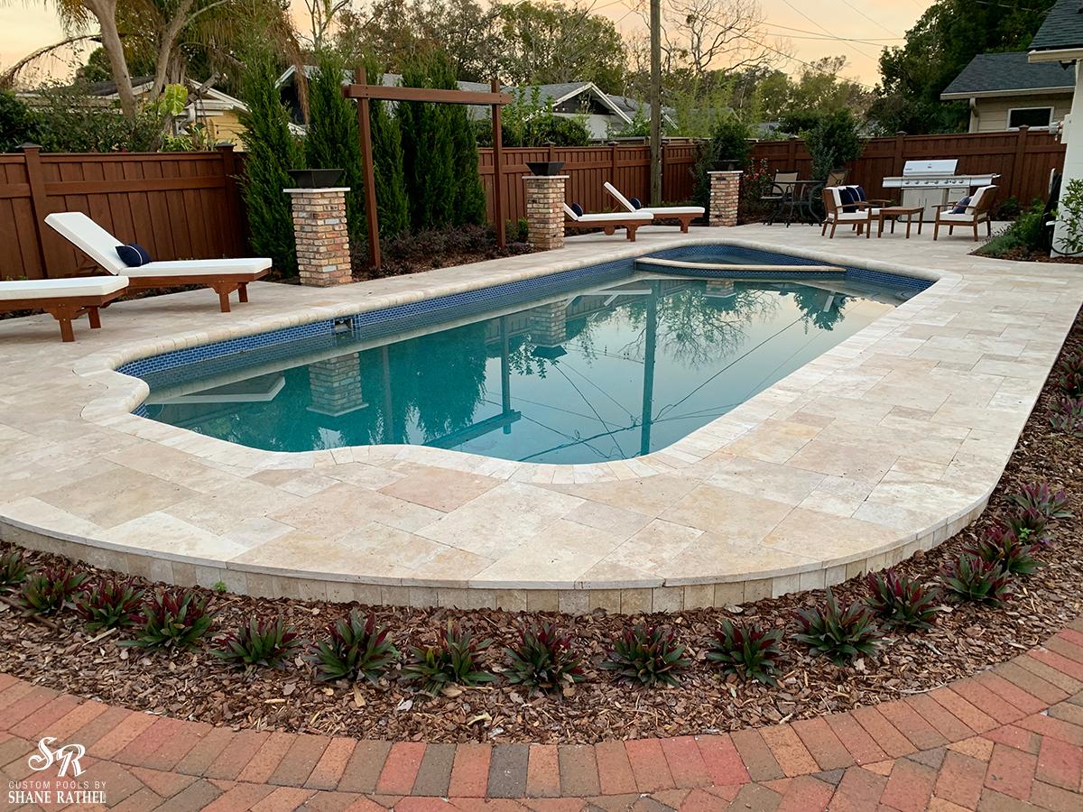 Winter Park Backyard Remodel | Shane Rathel Pools Inc